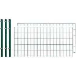 Arvotec Doppelstabmattenzaun, 2 Stk., LxH: 4x1 m, grün