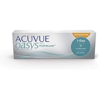 Acuvue Oasys 1-Day for Astigmatism (90 Linsen) / 8.50 BC / 14.30 DIA / -1.75 DPT / -0.75 CYL / 40° AX