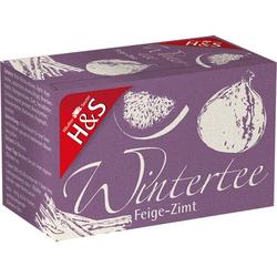 H&S Wintertee Feige-Zimt Filterbeutel 20X2.0 g