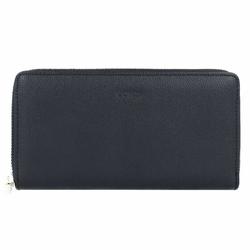 L.Credi Margarete Geldbörse Leder 19 cm schwarz
