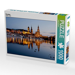 Dresden Lege-Größe 64 x 48 cm Foto-Puzzle Bild von Peter Schickert Puzzle