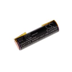 AccuCell Akkuzelle für Bosch Ciso u.a. 3.7V, Li-Ion, 2900mA Zusatz-Akku