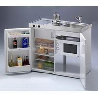 Stengel Küchen Kitchenline MKM 100 Ceranfeld mit Mikrowelle links
