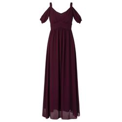 APART Damen Abendkleid weinrot, Größe 34, 4651491
