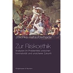 Zur Risikoethik. Joschka Haltaufderheide  - Buch