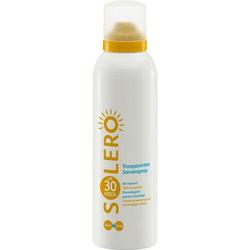 SOLERO transparentes Sonnenspray LSF 30 150 ml