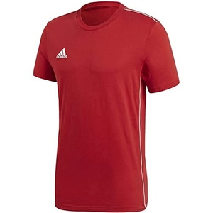 adidas Kinder Core 18 Tee T-Shirt, Power red/White, 176