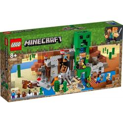 LEGO® Puzzle LEGO® Minecraft 21155 Die Creeper Mine, Puzzleteile