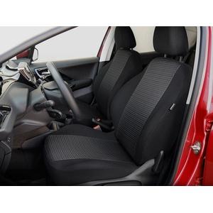 Citroen Berlingo Sitzbezüge nach Maß Autoplanen perfekte Passform Schonbezüge Sitzschoner Velour + Strickpolster ®Auto-schmuck (Berlingo II !+1 pr-1)