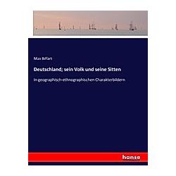 Deutschland; sein Volk und seine Sitten. Max Biffart  - Buch