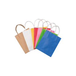Folia Geschenkpapier Papiertüten 18 x 21 cm farbig, 20 Stück