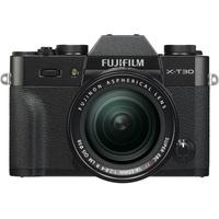 Fujifilm X-T30 schwarz + XF 18-55 mm R LM OIS