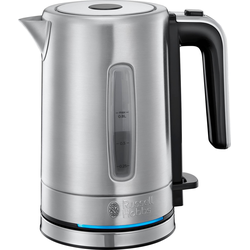 Wasserkocher, Compact Home Mini 24190-70, 0,8 l, 2200 Watt, energiesparend, 0,8 Liter, 2200 Watt, Wasserkocher, 21099057-0 silberfarben silberfarben