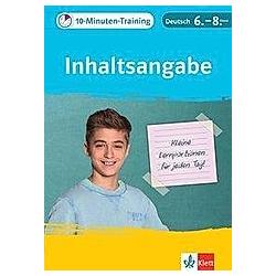 10-Minuten-Training Inhaltsangabe - Buch