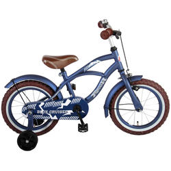 LeNoSa Kinderfahrrad Volare Blue Cruiser • Retro Design • Kinderfahrrad - Jungen - 14 Zoll • Alter: 3,5 - 5 Jahre