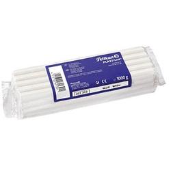 Pelikan Knete Plastilin 680 weiß 1,0 kg