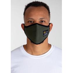 Alpha Industries Mund-Nasen-Masken, (1-tlg) grün
