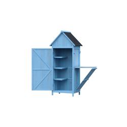 HTI-Line Geräteschrank Wanda blau