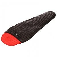 Alvivo Ibex Light Schlafsack schwarz/rot Left Zipper 2020 Schlafsäcke