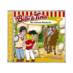 Kiddinx Hörspiel CD Bibi & Tina 53 - Der verhexte Wanderritt