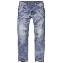 Brandit Will Denimtrouser Jeans Hose blau, Größe 33/32