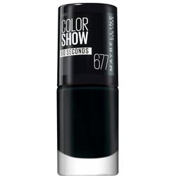 MAYBELLINE NEW YORK Nagellack ColorShow Nagellack schwarz