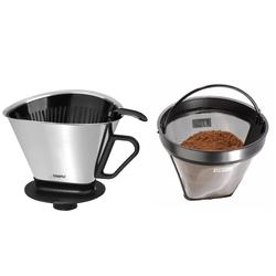 GEFU Kaffeefilter ANGELO mit Dauerfilter ARABICA im Set