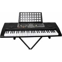 Clifton Keyboard 61-Tasten mit LC-Display, (Set), mit Ständer
