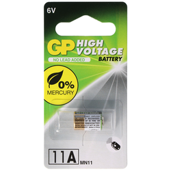 GP11A GP Batterie, 6 Volt Alkaline High Voltage Battery