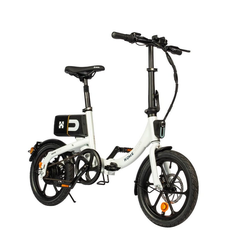 HOME DELUXE E-Bike BUMBEE, Automatikschaltung, 250,00 W weiß