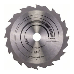 Bosch Kreissägeblatt Speedline Wood 165 x 20/16 x 1,7 mm 12