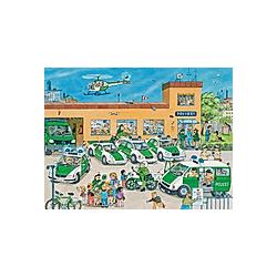 "Ravensburger Puzzle ""Polizeirevier""  100-teilig"