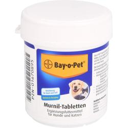 BAY O PET Murnil Tabletten f.Hunde/Katzen 80 St.