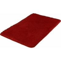 MEUSCH Badematte Super Soft Höhe 23 mm, fußbodenheizungsgeeignet-strapazierfähig, rutschhemmender Rücken rot Einfarbige Badematten