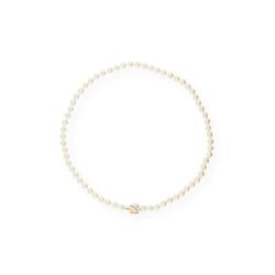 JuwelmaLux Collier Perlencollier Gold
