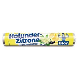 BLOC Traubenzucker Holunder-Zitrone Rolle 1 St