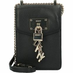 DKNY Elissa Split Mobiel telefoonhoesje Leer 12,5 cm black gold