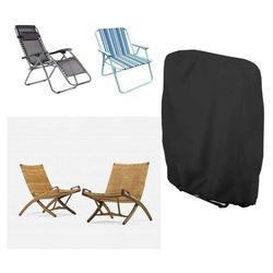 kueatily Angelliegen-Schutzhülle Klappstühle Schutzbezug Klappbarer Liegestuhlbezug Wasserdicht Winddicht UV-beständig für Gartenliege Sonnenliege