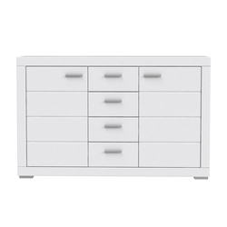 Forte Sideboard Snow in weiss matt