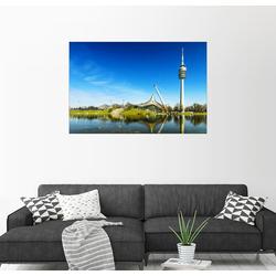Posterlounge Wandbild, München - Olympiapark 100 cm x 70 cm