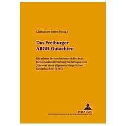 Das Freiburger ABGB-Gutachten - Buch