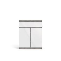 ebuy24 Sideboard Nada Sideboard 2 Türen und 1 Schublade, beton deko