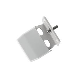 Sichtschutzzüge Montagezubehör, sunlines, Plissees, (Packung, 4-tlg), für die Rahmen/-Wandmontage von Plissees grau