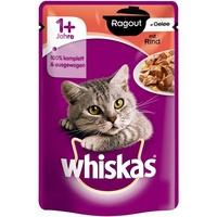 Whiskas 1+ Ragout mit Rind in Gelee 28 x 85 g