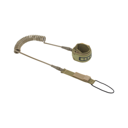 ION SUP Core Leash coiled olive 2020 SUP-Leash Band Leine, Leash Längen: 8'