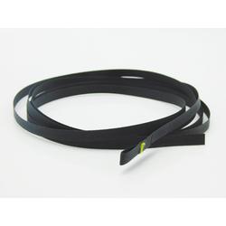 Rollo Texband Jalousieband in Schwarz 8x0,34 mm, Markiso
