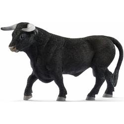 Schleich® Spielfigur Farm World, Schwarzer Stier (13875)
