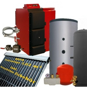 BAFA-Set Pelletkessel Pelling 35kW ECO Solarthermie