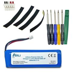 ARLI Akku passend JBL Charge 2+ 2 Plus MLP912995-2P Li-Polymer Batterie 6000 mAh 3,7 V Akku