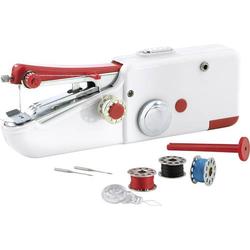 Easymaxx Handnähmaschine 2927 Weiß, Rot